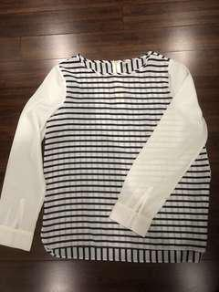 Old Navy striped long sleeves