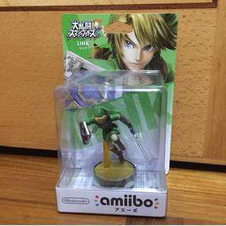 全新 絕版 大亂鬥 Link 林克 Amiibo 可獲得傳說之馬 Epona