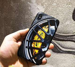 🚚 賓士 AMG 現貨不用等 手機殼 硬殼 卡鉗 樣式 蘋果 iPhone X 6/6s 7 8 plus 現貨