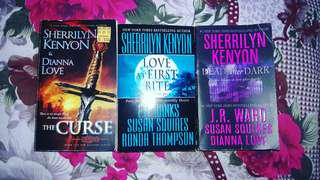Sherrilyn kenyon books