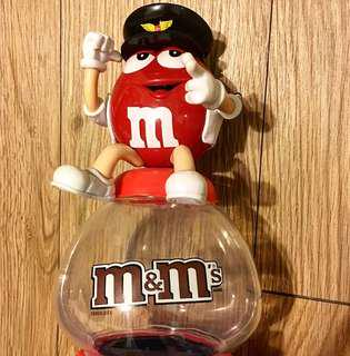 🚚 M&M's 紅色扭蛋機