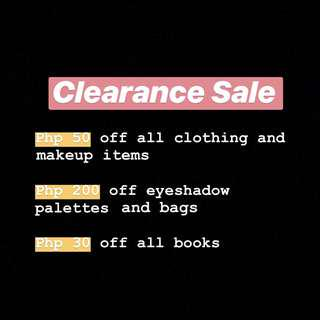 CLEARANCE ON ALL WOMEN'S ITEMS