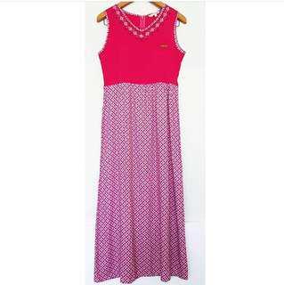 Embroidery Pattern Dress