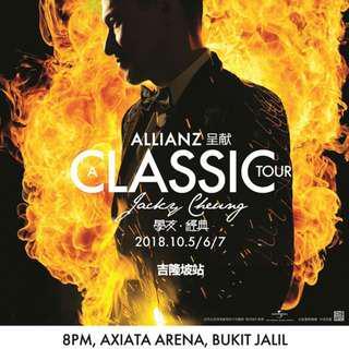 Jacky Cheung Cat 2 Tickets