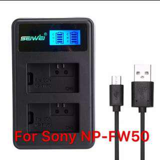 Sony NP-FW50 battery charger (3rd party)