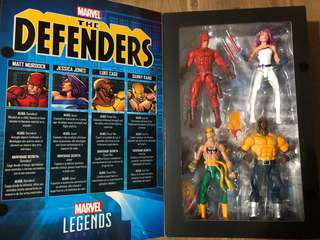 Marvel Legends Defenders box set
