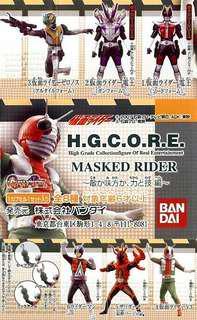 全新 幪面超人 Masked Rider 扭蛋 (無 V3 同 怪金剛 任選一款)