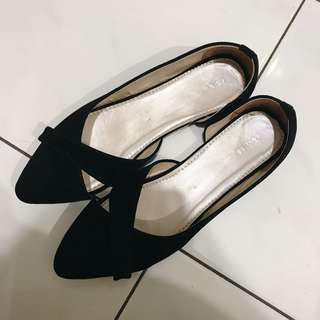 (NEW) Flat Shoes Velvet