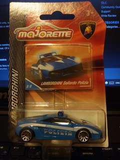 Majorette Lamborghini Gallardo Poliza