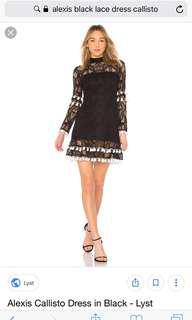 Alexis dress lace Callisto