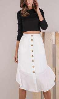The Tinsel Rack Tiana Midi Skirt