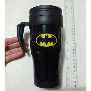🈹全新 Batman Travel Mug With Handle DC Super Hero Official Item New Cup 蝙蝠俠保温杯有手柄 正貨真品