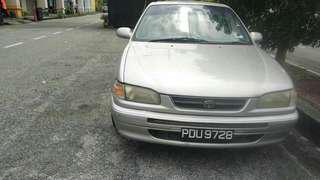 1995 toyota seg.  1.6 auto