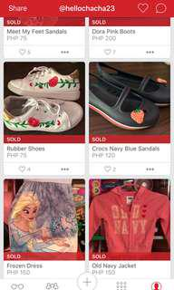 Sold Items (Deleted)