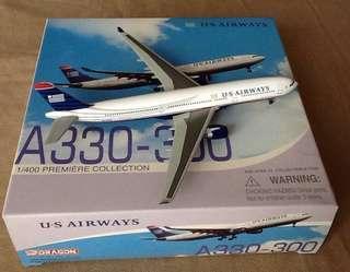 BRAND-(DRAGON) US AIRWAYS A330-300/1:400