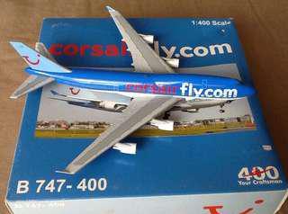 CORSAIR fly.com B747-400/1:400