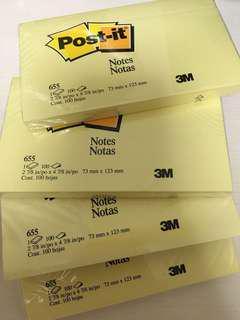 3M™ Post-it® Note 報事貼黃色便條紙