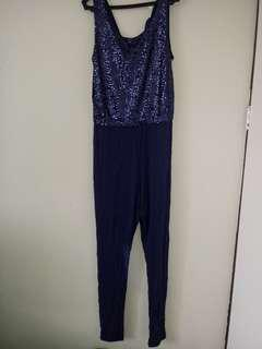 New H&M glittery jumpsuit