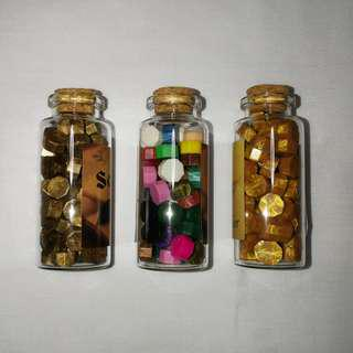 🚚 [In Stock] Bottled Wax Beads / Capsules (~60 pieces in 1 bottle)