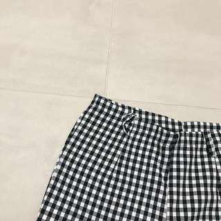 Checkered Highwaist Pants