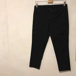 NET 直筒褲 黑褲 七分褲 / 小隻女的九分褲 ❤