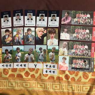 Golden Child Photocards Clearance