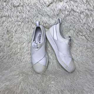 Adidas Slip On White