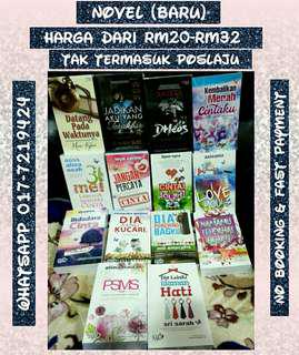 Novel Melayu Pelbagai Pilihan