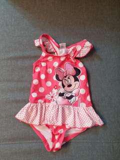 小童 Minnie mouse 泳衣
