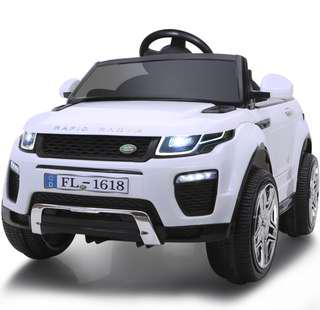 Ready stock brand new kids electric car range rover design battery remote operated