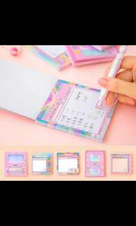 (PO) ULZZANG CUTE STICKY NOTES