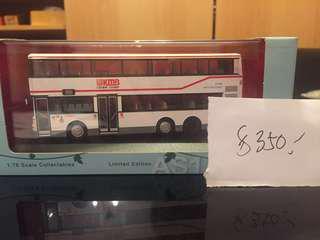 代友放 各款巴士模型 1:76 全新