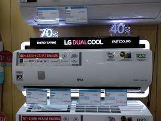 AC LG 1.5PK New (Cicilan Cepat Tanpa Kartu kredit 3 Menit )