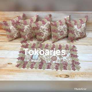 Sarung bantal sofa bagus / sarung bantal / SBK SET