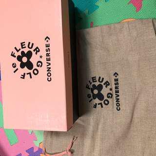 Converse golf 鞋盒 帆布袋