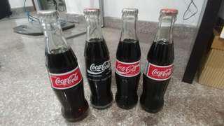 Coke bottles from Philippines
