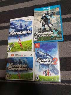 Nintendo Xenoblade collections