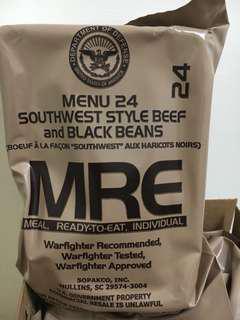 🚚 (MiQi)<現貨>美軍MRE野戰餐野戰口糧