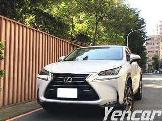 FB搜尋【阿彥嚴選認證車-Yencar】2015年NX200T僅跑一萬、中古車、二手車、全額貸、車換車