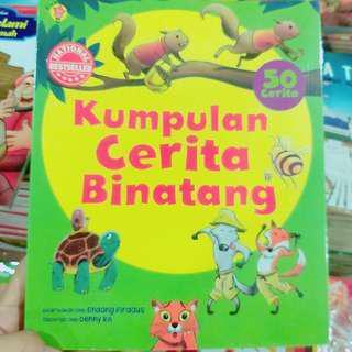 Buku kumpulan 50 cerita binatang