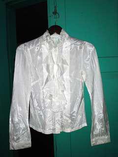 Baju Kerja Putih Victoria