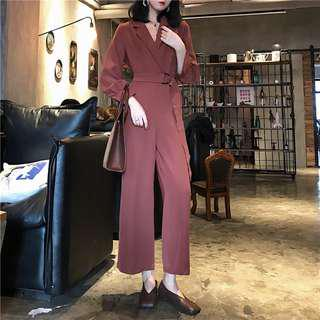 All Night Long Sleeve Jumpsuit