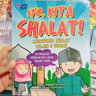 Buku panduan sholat dan doa sehari hari