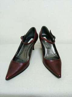 AUTHENTIC FURLA LEATHER SHOES. MADE IN ITALY