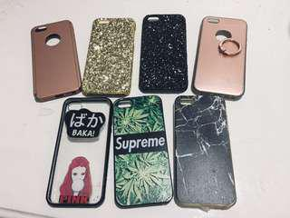 Iphone 5/5s Casing Glitter | Gold | Supreme | Assorted
