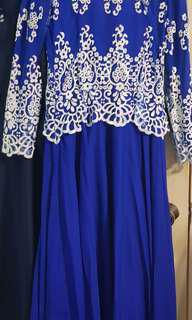 GREAT DEAL!! Plus Size Blink Royal Blue Dress