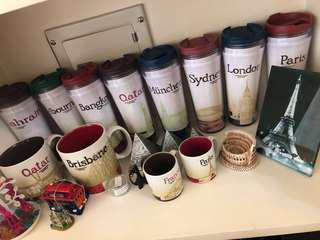 🚚 Starbucks星巴克城市杯隨行杯絕版品