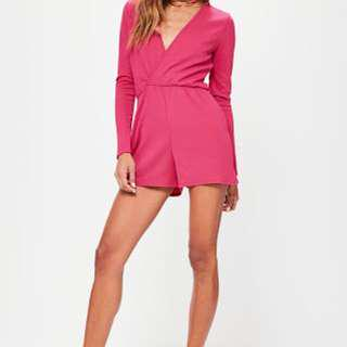 XS Brand new Long sleeved playsuit