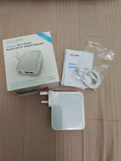 TP link 300mbps WiFi pocket router/AP/TV Adapter/Repeater