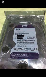 Western digital purple 4TB harddisk